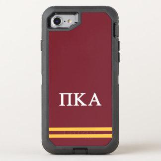 Pi Kappa Alpha | Sport Stripe OtterBox Defender iPhone 8/7 Case