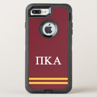 Pi Kappa Alpha | Sport Stripe OtterBox Defender iPhone 8 Plus/7 Plus Case