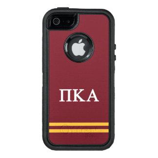 Pi Kappa Alpha | Sport Stripe OtterBox Defender iPhone Case
