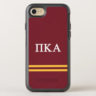 Pi Kappa Alpha | Sport Stripe OtterBox Symmetry iPhone 8/7 Case