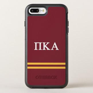 Pi Kappa Alpha | Sport Stripe OtterBox Symmetry iPhone 8 Plus/7 Plus Case