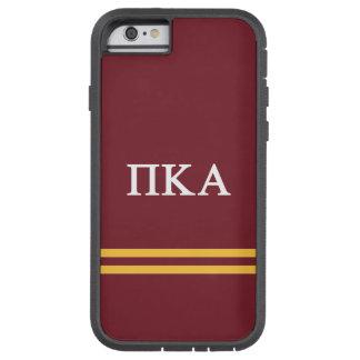 Pi Kappa Alpha   Sport Stripe Tough Xtreme iPhone 6 Case