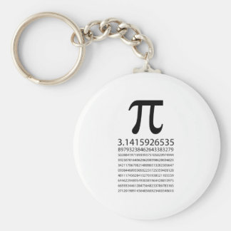 Pi Key Ring