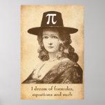 Pi Lady Dreams Poster
