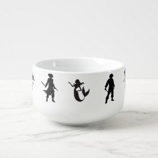 Pi-Maids, Pirates and Mermaids Go Together Soup Mug