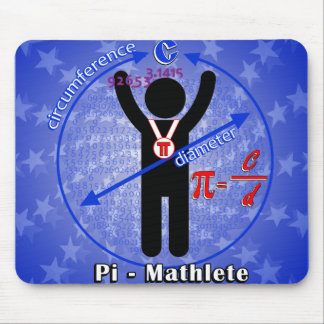 Pi-Mathlete 3.14 Pi Day Mouse Pads