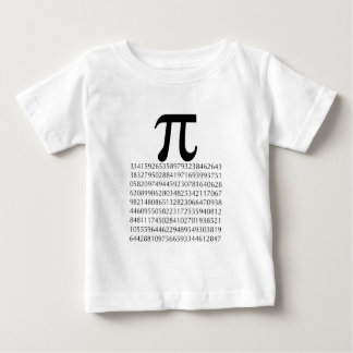 pi  maths baby T-Shirt