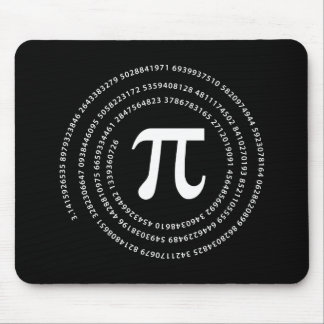 Pi Number Design Mouse Pad