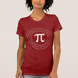 Pi Number Design T-Shirt