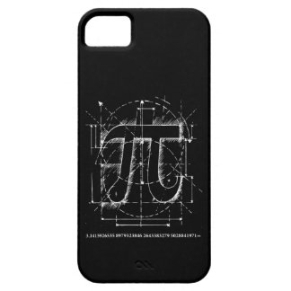 Pi Number Drawing Barely There iPhone 5 Case