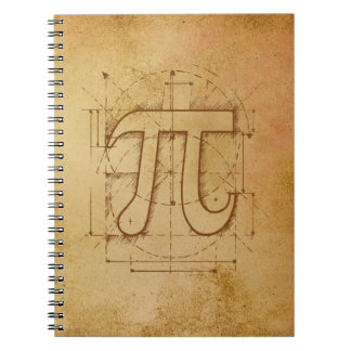 Pi Number Drawing Note Books