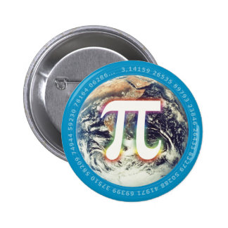 Pi Number on Earth - Math button