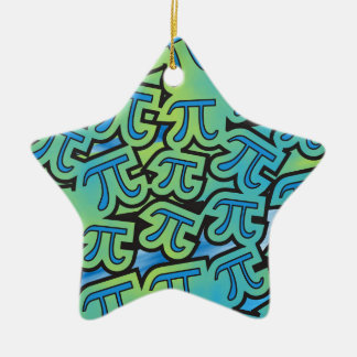Pi Party Ceramic Star Decoration