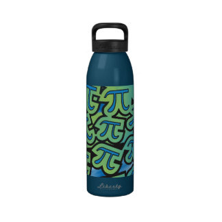 Pi Party Water Bottle