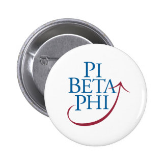 Pi Phi Logo 6 Cm Round Badge