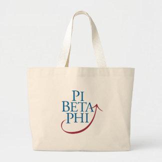 Pi Phi Logo Jumbo Tote Bag