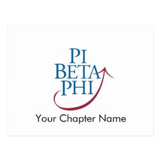 Pi Phi Logo Postcard