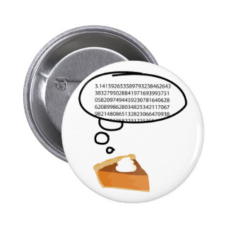 Pi Pie 3 14 Pinback Button