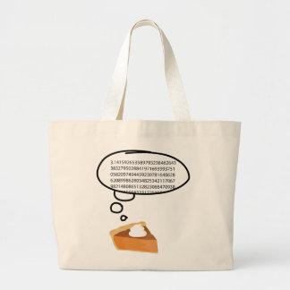 Pi Pie 3.14 Jumbo Tote Bag