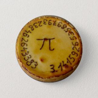 Pi Pie 6 Cm Round Badge