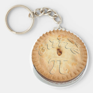 PI PIE CRUST! Cutie Pie - Celebrate Pi Day! π Key Ring