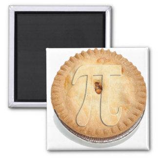 PI PIE CRUST! Cutie Pie - Celebrate Pi Day! π Square Magnet