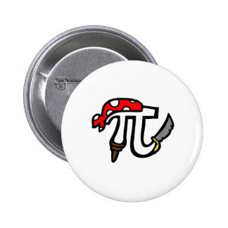 PI Pirate 6 Cm Round Badge