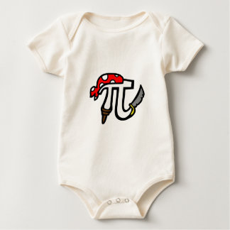 PI Pirate Baby Bodysuit
