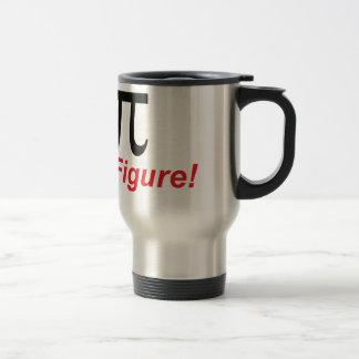 Pi Radius 3.14 Stainless Steel Travel Mug