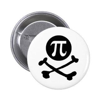 Pi-rate 6 Cm Round Badge