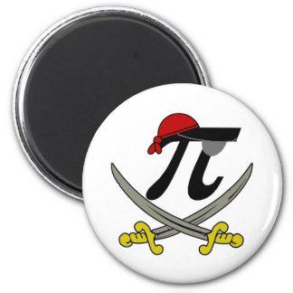 Pi - Rate 6 Cm Round Magnet