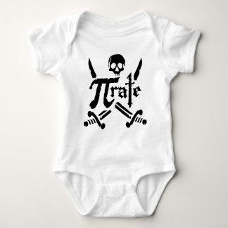 Pi Rate Baby Bodysuit