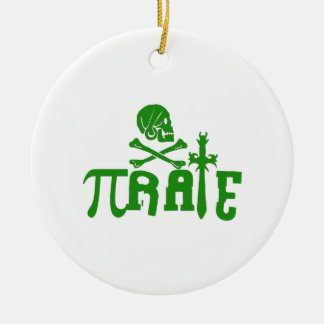 Pi - rate christmas ornaments