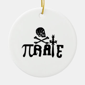 Pi - rate christmas ornament