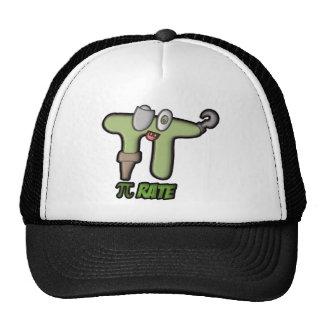 PI-RATE GREEN TRUCKER HAT