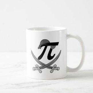 Pi - Rate pirate Basic White Mug