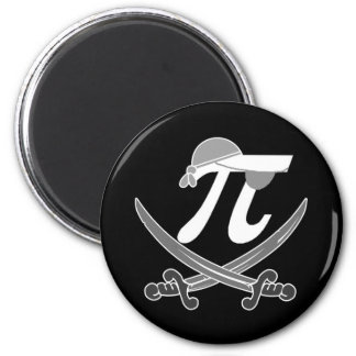 Pi - Rate pirate Magnets