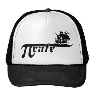 Pi rate ship hats