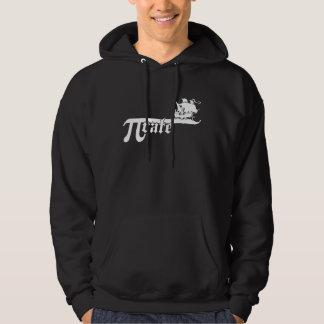 Pi rate ship hoodie