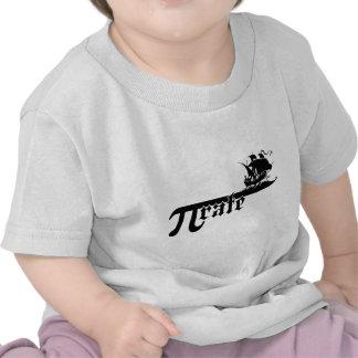 Pi rate ship shirts