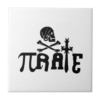 Pi - rate ceramic tile