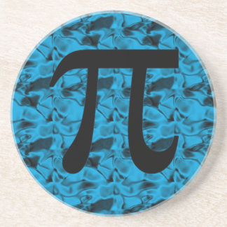 Pi Sign Beverage Coaster