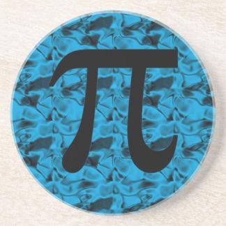 Pi Sign Beverage Coaster