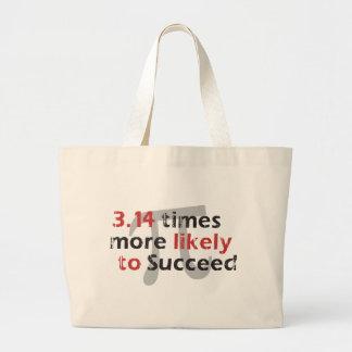 Pi Success Canvas Bag