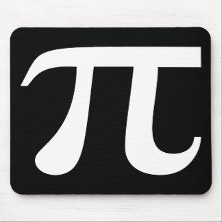 Pi Symbol Black And White Mousepads