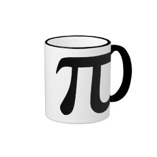 Pi Symbol Ringer Coffee Mug