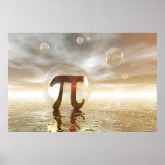 Pi Symbol poster
