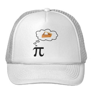 Pi Thinking of Pie Cap