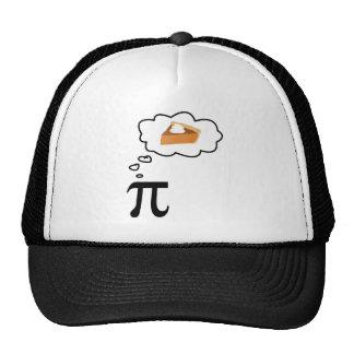 Pi Thinking of Pie Hat