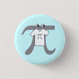 Pi wearing Pi 3 Cm Round Badge